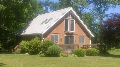 Photo for West Tisbury Home, Peaceful, Affordable, 3 BR, Near Bike Path