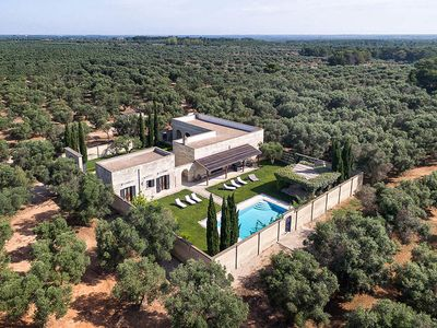Photo for Special Offers - Luxury Villa in Puglia - infinity pool immersed in olive groves