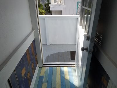 Private  air conditioned staircase to first landing