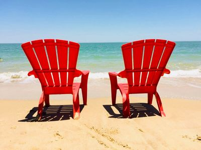 Photo for PROMO - Beach Front Getaway on Sandy Beach with Wi-Fi