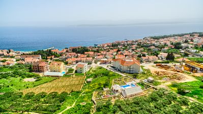 Photo for Villa Sun Garden with the most beautiful sea view in the middle of Bol