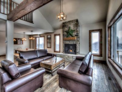 Photo for 8 bdrm newly built LUXURY CHALET at BLUE MOUNTAIN