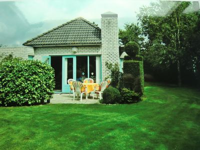 Photo for Cozy cottage with terrace and large lawn