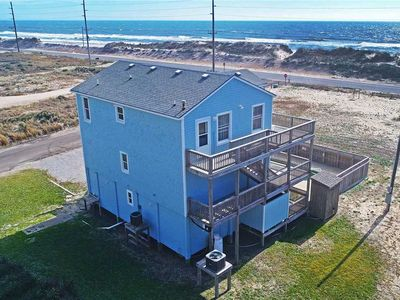 Photo for New Semi-Oceanfront Listing! Dog-Friendly w/Pool, Hot Tub, Luggage Lift, Game Rm