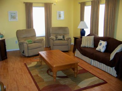 Two recliners and Queen Sleeper Sofa