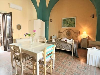 Photo for Holiday home Mono Borgo is located on the first floor of a 17th century building in the medieval vil