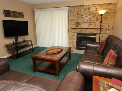 two bedroom condo, sleeps 8