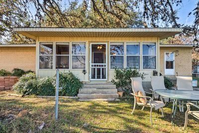 With 3 bedrooms and 2 bathrooms, this home accommodates 12!