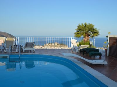 Photo for Splendid Double room with full bathroom, Panoramic patio in Lipari