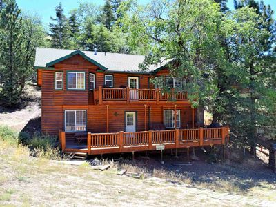 Photo for Loggy: Near Bear Mountain! Pool Table! BBQ! Huge Kitchen! Pet Friendly! Dish TV!