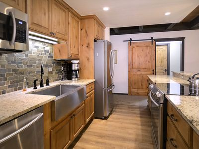 Photo for Ski-In/Out End Unit w/ Mountain Views; Remodeled Kitchen and Bathrooms