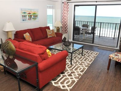 Photo for Newly Remodeled Oceanfront Corner Unit