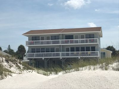 Photo for Clearwater Beach House - directly on beach.