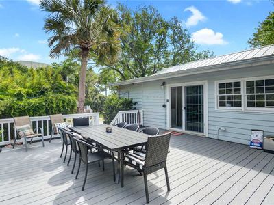 Photo for Sea Salt Cottage | Folly Beach | Short Walk to Beach | Large Deck w/ Grill | Screened Porch