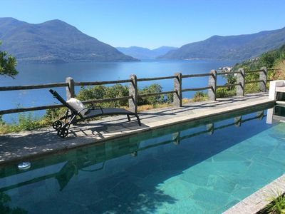 Photo for Beautiful holiday house with private swimming pool and panoramic views
