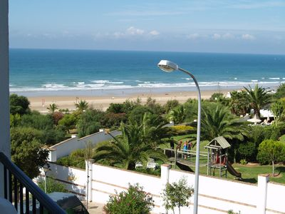Photo for Nice apartment with stunning views over the beach and the sea