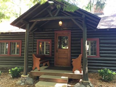 Photo for Charming/Elegant Log Cabin Compound w/ Luxurious Amenities (Deck Boat Incl.)!