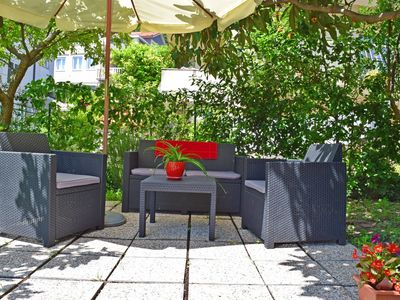 Photo for Apartment Emi no1 with garden, 50m from beach, with wifi, air conditioning