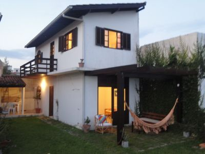 Photo for Cozy townhouse just steps from the beach in Morrinhos.  Free wi-fi.
