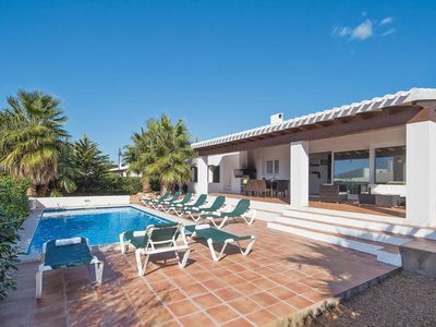 Photo for 5 bedroom Villa, sleeps 10 in Binibèquer Vell with Pool, Air Con and WiFi