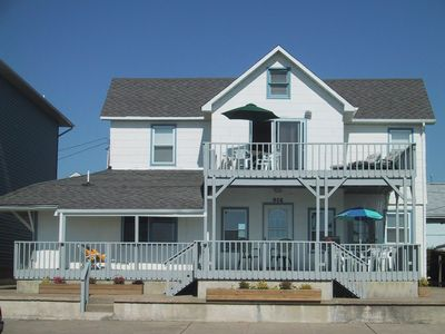 Photo for Ocean front! Fun for the whole family  in this 5 bedroom  beach house