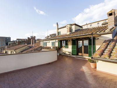 Photo for City / Village Apartment in Cortona with 2 bedrooms sleeps 4