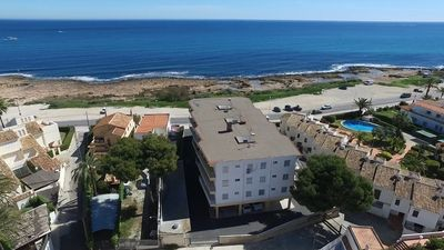 Photo for Fully refurbished first line sea view apartment. 25 metres walk to Javea Bay