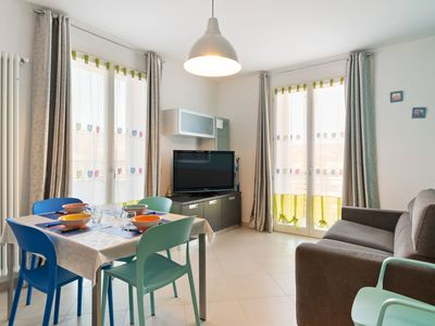 Photo for Pleasant Apartment in Diano Castello with Terrace