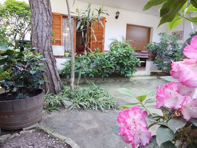 Photo for Playa de Aro-Centrical ground floor with private garden.