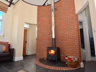 Stunning fire for romantic cosy nights