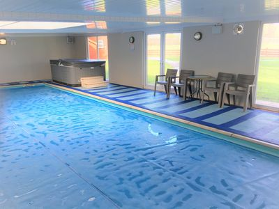 Refurbished Indoor pool.