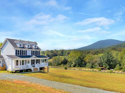 Photo for New, family-friendly home w/ 4 acres, killer views