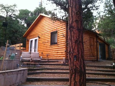 Photo for Wake up somewhere special! In Crown King! 1 king and 1 Queen 2 bedroom cabin!