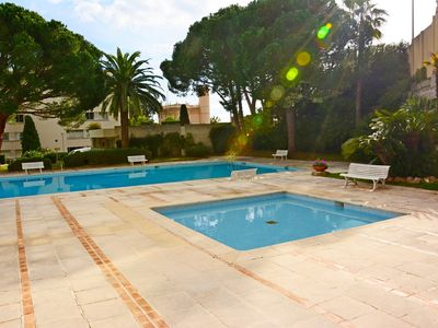 Photo for Nice Apartment with Terrace, Swimming-pool, Table Tennis - Green area - Sea 800m - Wifi - Private...