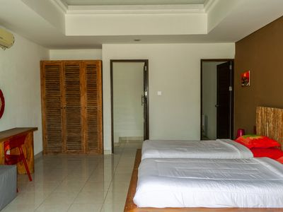 Photo for 2 Bedroom Orchid Paradise Bukit Villa - Rooftop Home Family Rentals Bali