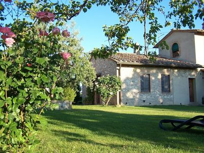 Photo for Apartment in San Gimignano with Internet, Parking, Garden, Washing machine (680621)