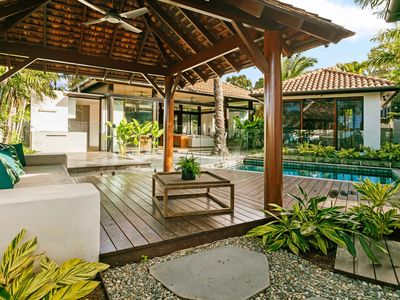 Photo for Balinese style Luxury Accommodation in the new Iluka Beach Estate in Palm Cove.