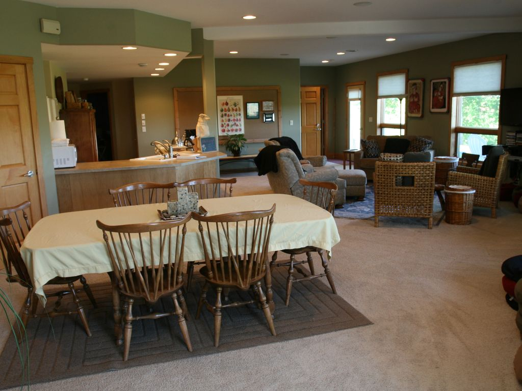 Dining Kitchen Living Areas