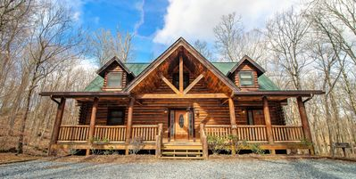 Photo for Luxury Log Cabin on Sugar Mountain