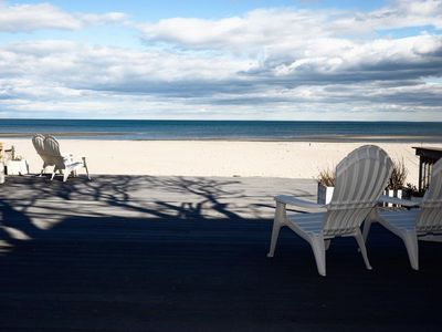 Photo for Perfect Beach Cottage directly on a Gorgeous Private Beach