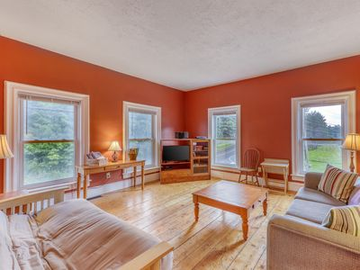Photo for NEW LISTING! Remodeled Victorian-style duplex with hiking, biking, skiing nearby