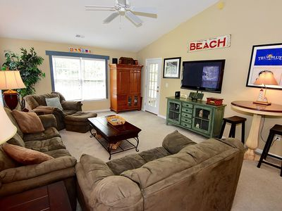 Photo for Relax in this beautiful Condo on the True Blue Golf Course