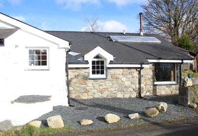 Our beautiful new extension with picture window with snowdonia mountain views