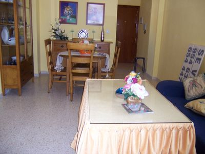 Photo for Holiday apartment with pool and parking in Chipiona