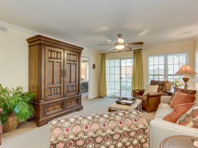 Photo for Luxury Condo, Beautiful Decor, On the Marsh w/Ocean View, 2 Blocks From Beach