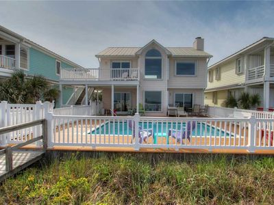 Photo for Dolphin Run: 5 BR / 4 BA single family home in Kure Beach, Sleeps 20