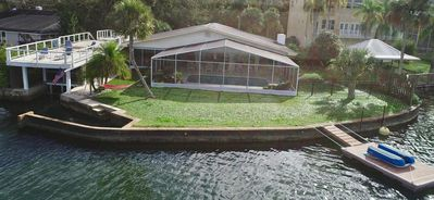 Photo for NEW LISTING Crystal River Boathouse - Unique Property, Boathouse Over Water.