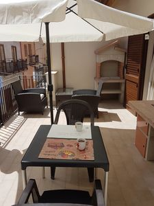 Photo for E & V Apartment with balcony and terrace with BBQ