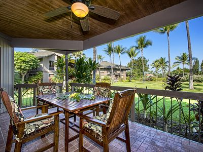 Photo for Oversized condo with A/C located in the Picturesque Kanaloa Complex!