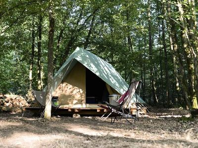 Photo for Camping Huttopia La Clarée * - Bonaventure Tent 1 Room 2 People